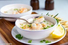 Creamy Seafood Chowder - Gather for Bread