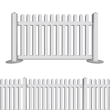 Portable Event Picket Fencing Simple Fence And Crowd Barrier Solution