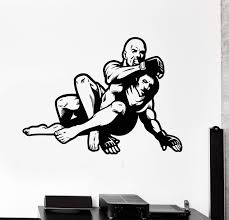 Vinyl Wall Decal Mma Fight Fighters Martial Arts Sports Stickers Uniqu Wallstickers4you