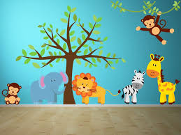 It S A Jungle Out There Childrens Animal Wall Decals Jungle Wall Decals Kids Wall Decals Kids Room Decals