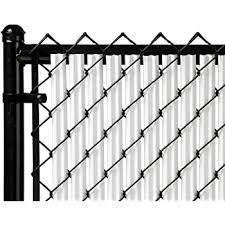Amazon Com Fenpro Chain Link Fence Privacy Tape Arctic White Garden Outdoor