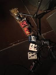 Alan Sparhawk of Low - Current live pedalboard : guitarpedals