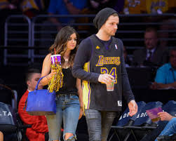 LUCY HALE at LA Lakers Game in Los ...