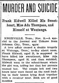Murder of Ada Thompson, Nov 1901 - Newspapers.com