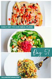 eat to live menu day 51 o