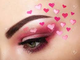 heart valentine s day makeup beauty