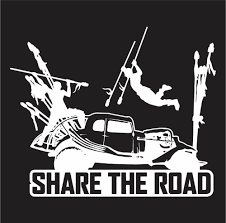 Mad Max Fury Road Share The Road Vinyl Die Cut Decal Sticker Texas Die Cuts