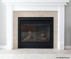 grey painted brick fireplace gray