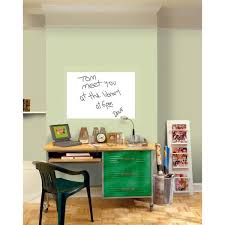 Wall Pops 36 In X 24 In Dry Erase Whiteboard Wall Decal Wpe0446 The Home Depot