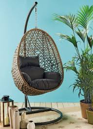 aldi s stunning hanging egg chair is