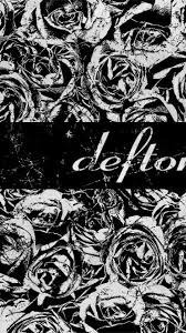grunge deftones grayscale roses