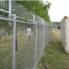 Hire Barbed Extension Temporary Fencing