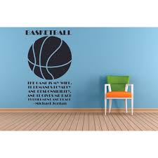 Game Is My Wife Michael Jordan Basketball Quotes Sports Inspiration Quote Wall Decal Vinyl Art Sticker Design For Boys Girls Room Home Court Bedroom Decor Wall Art Mural Decoration Size 20x12 Inch