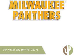 Amazon Com University Of Wisconsin Milwaukee Uwm Panthers Ncaa Vinyl Decal Laptop Water Bottle Car Scrapbook Sticker 011 Arts Crafts Sewing