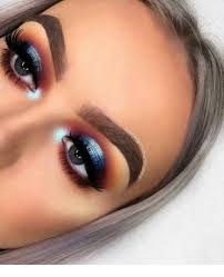 cute eye makeup ideas for blue eyes