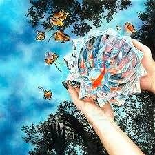 Goldfish Bowl Painting by Lynda Smith Touart