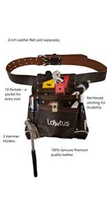 lautus oil tanned leather tool pouch