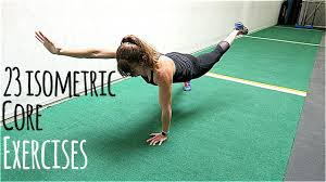 23 isometric core exercises you