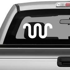 Truck Decal King Ranch Symbol Vinyl Sticker For Vehicle Decoration Customvinyldecor Com