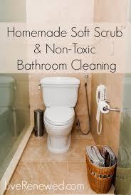 soft scrub recipe and non toxic