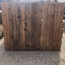 6ft X 5ft Economy Closeboard Fence Panel East Coast Fencing