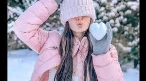 رمزيات بنات في الثلج مع اجمل اغنية تركية من تصميمي Youtube