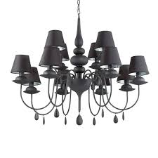 extraordinary black chandelier shades