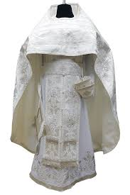 PRIEST VESTMENT WHITE • buy | for sale >>> ORTHODOX