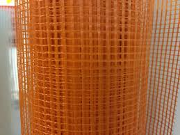 Orange Plastic Mesh Knitted Safety Barrier Fencing