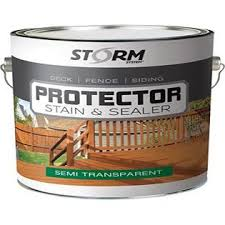 Storm System Storm Protector Penetrating Sealer Stain Protector Deck Protector Fence Protector Mahogany Stain Redwood Stain 1