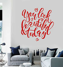 Spa Salon Wall Decals Full Color Natural Beauty Salon Decor Art Mural Sd41