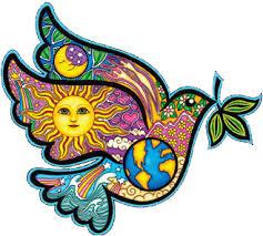 Dan Morris Peace Dove Window Sticker Decal In 2020 Peace Dove Hippie Sticker Dove And Olive