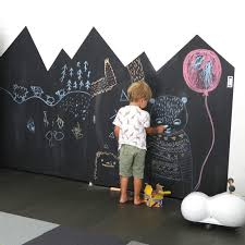 Fun Ways To Create A Chalkboard Wall In A Kids Room Petit Small Kids Playroom Boy Room Kid Room Decor
