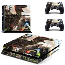 Ark Survival Evolvedl Whole Body Vinyl Skin Sticker Decal Cover For Ps4 Playstation 4 Console And 2 Controller Sale Up To 70 Stickersmegastore Com