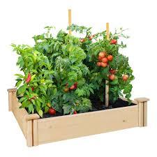 16 X 48 X 5 5 Greenes Fence Premium Cedar Raised Garden Bed