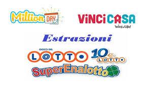 Lotto, Superenalotto, 10eLotto, Million Day e VinciCasa: risultati ...
