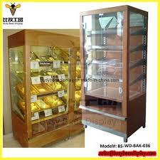china metal wooden glass acrylic bakery