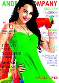 cover design for a magazine freelancer