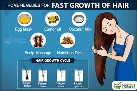 home remes for fast growth of hair