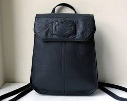 vintage harley davidson black leather