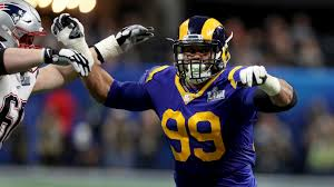 Fake Knives Help Rams Sack Artist Aaron Donald Stay Sharp in the ...