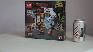 Mở hộp Lepin 06056 Lego Ninjago 70606 Spinjitzu Training Dojo giá ...
