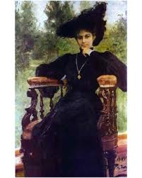 Spectacular Sales For Ilia Efimovich Repin Portrait Of Maria Andreeva Wall Decal Print