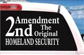 2nd Amendment Car Decals Stickers Decal Junky