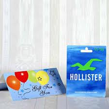 hollister 25 gift card gift send