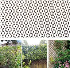 Amazon Com Glant Lattice Fence Willow Expandable Plant Climbing Lattices Trellis Fence Open Screen Willow Fencing Willow Expandable Trellis Fence 1 Garden Outdoor
