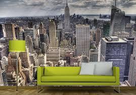 new york skyline giant wall murals