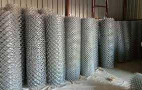 Galvanized Steel Chain Link Fencing Roll Rs 57 Kilogram Vimal Agro Id 20535092791