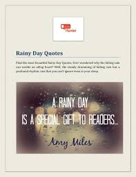 ppt rainy day quotes powerpoint presentation id
