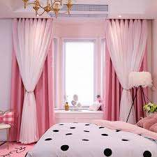 Star Curtains Stars Blackout Curtains For Kids Girls Bedroom Living Room Colorful Double Layer Star Cut Out Stripe Window Curtains 1 Panel Walmart Com Walmart Com